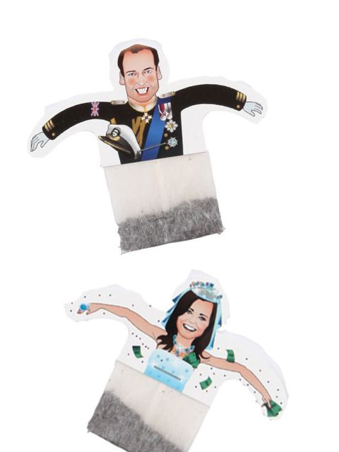 "<p>Novelty <a href=""http://www.elleuk.com/starstyle/style-files/(section)/kate-middleton"">Kate</a> and William Royal Wedding Teabags, £4.95, at <a href=""http://www.liberty.co.uk/fcp/product/Liberty/The-Royal-Wedding/Novelty-Kate-and-William-Royal-Wedding-"