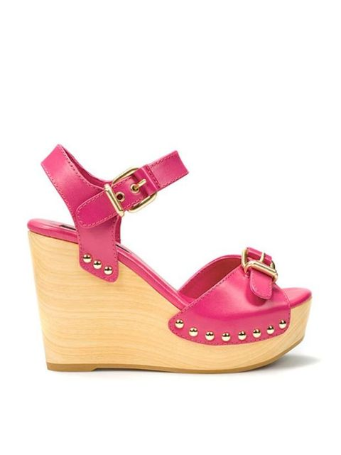 """<p><a href=""""http://www.zara.com/webapp/wcs/stores/servlet/product/uk/en/zara-S2011/61144/368085/CUNA%2BMADERA%2BHEBILLAS"""">Zara</a> pink platform wedge sandals, £69.99</p>"""