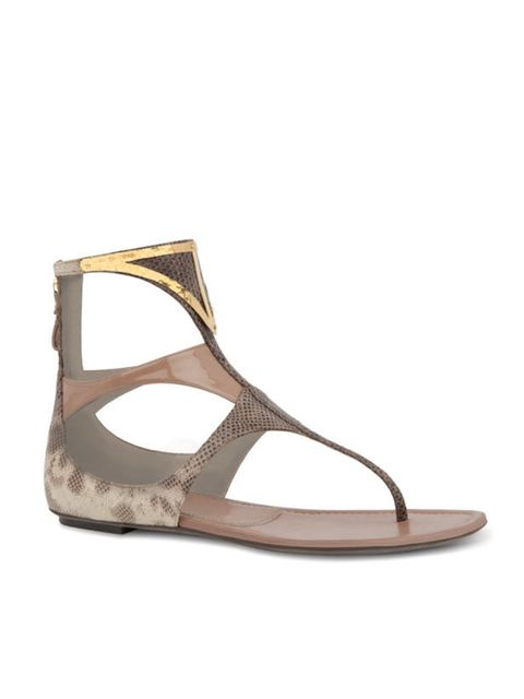 <p>Sergio Rossi sandals, for stockists call 0207 811 5950</p>