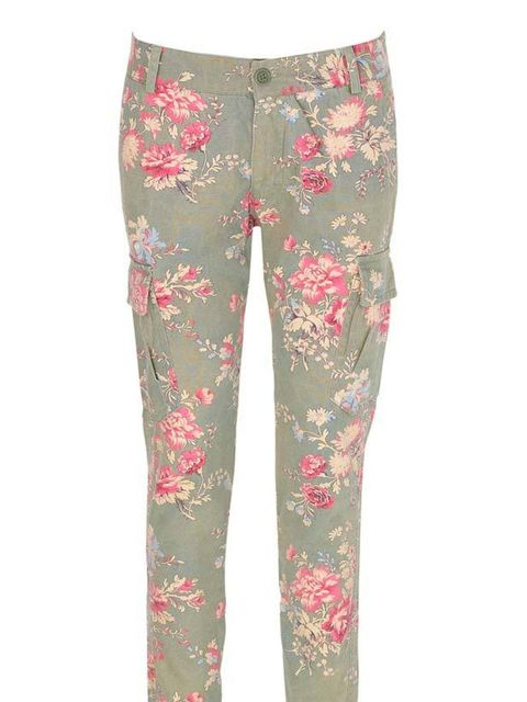 "<p>Paul & Joe Sister floral cargo jeans, £155, at <a href=""http://www.urbanoutfitters.co.uk/paul-+amp-joe-sister-floral-cargo-pant/invt/5123423088565/?htxt=DpCfaeqTd6jBL6gAkZe%2FD5nUJ3s1HiyxUiZSPJ03F5ReYNxluxvAE4IJlH9Qnmy5YbN%2B%2Fr%2FJ1qAA%0AHS%2Bj5S"