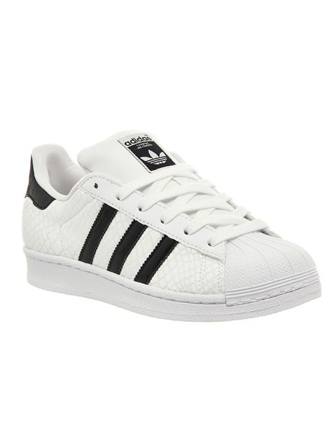 """<p>A pair of classic Adidas trainers are a wardrobe must-have. If you normally live in heels, your feet will thank you for it!</p>  <p>Superstar 1 by Adidas, £69.99, <a href=""""http://www.office.co.uk/view/product/office_catalog/5,21/2114612549"""" target=""""_bl"""