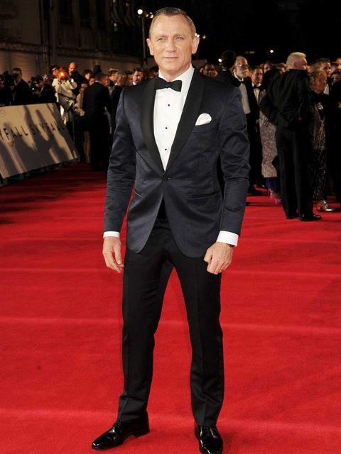 <p>James Bond actor Daniel Craig at the Skyfall premiere</p>