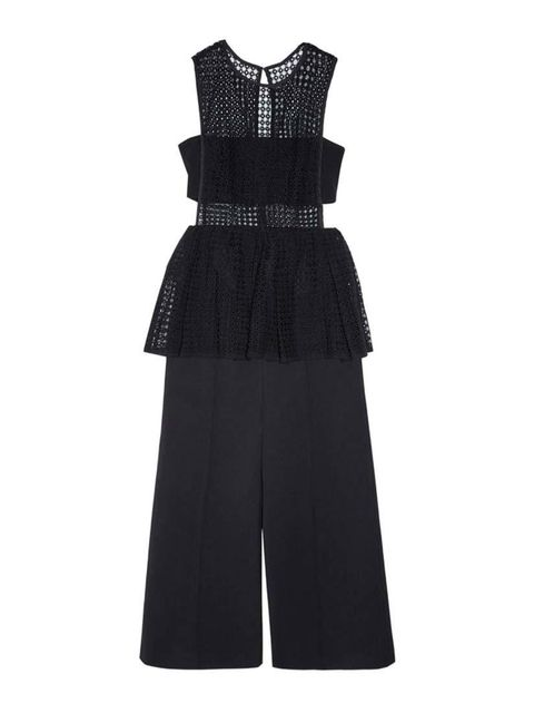 """<p>This dress/jumpsuit hybrid is the answer to any tricky dress code this summer. Cocktail? Why, of course. Black tie? Just add courts.</p><p><a href=""""http://www.elleuk.com/fashion/what-to-wear/elle-edits-jumpsuits-how-to-wear"""" target=""""_blank"""">Check out"""