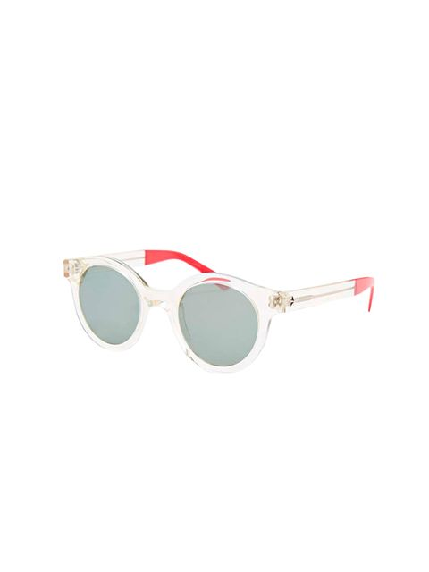 "<p><a href=""http://www.urbanoutfitters.com/uk/catalog/productdetail.jsp?id=5758249591121&amp&#x3B;category=WOMENS-SUNGLASSES-EU"" target=""_blank"">Sheriff &amp&#x3B; Cherry</a> sunglasses, &pound&#x3B;150 available at <a href=""http://www.urbanoutfitters.com/uk"" target=""_b"