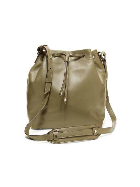 """<p>This bucket bag is Executive Fashion and Beauty Director Kirsty Dale's latest buy.</p>  <p><a href=""""http://bananarepublic.gap.co.uk/browse/product.do?cid=1004098&vid=1&pid=000506038SB15-18530"""" target=""""_blank"""">Banana Republic</a> bag, £89.50</p>"""