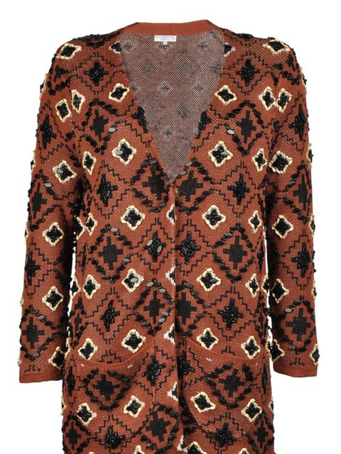 "<p>Opening Ceremony embellished cardigan, £270, at <a href=""http://www.thecorner.com/item/YOOX/OPENING+CEREMONY/dept/tcwoman/tskay/582B0E9B/rr/1/cod10/39213910GJ/sts/sr_tcwoman3"">thecorner.com</a></p>"