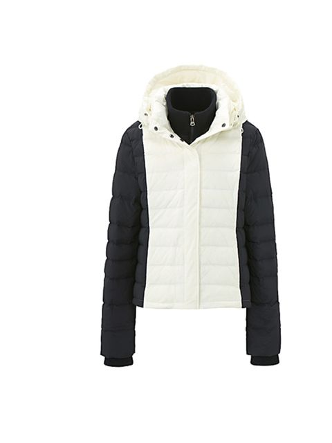 """<p>One of the most unexpected collaborations of the year has arrived- head to Uniqlo this week to pick up hip label Theory's cool and cosy puffa jacket… <a href=""""http://shop.uniqlo.com/uk/goods/075251"""">T Down by Theory for Uniqlo</a> monochrome jacket, £8"""