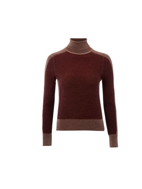 "<p>NW3 by Hobbs two-tone roll neck jumper, £89</p><p><a href=""http://shopping.elleuk.com/browse?fts=nw3+roll+neck+jumper"">BUY NOW</a></p>"