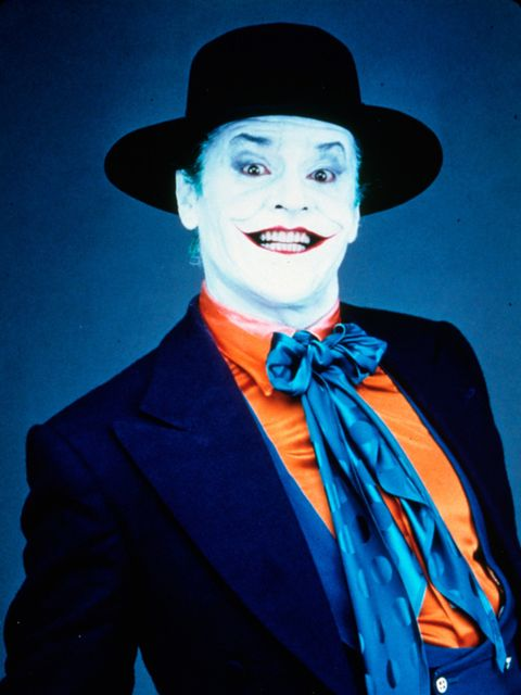 <p>Jack Nicholson as Joker in Batman (1989)</p>