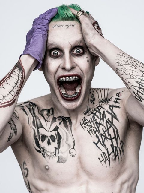 Jared Leto as Joker in upcoming Suicide Squad