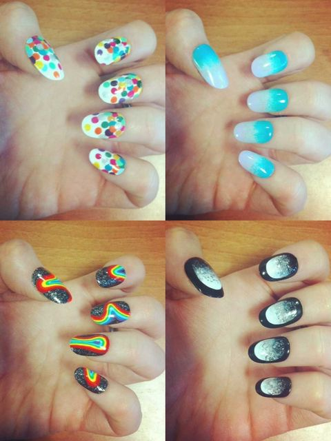 <p>Here at ELLE we're a little (okay, a lot) obsessed with nail art. One manicurist's blog - The Illustrated Nail - really caught our attention.</p><p>So we called on Sophie Harris-Greenslade, the nail expert behind the website, to create six step-by-step