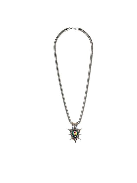 "<p>Premium jewel spike necklace from <a href=""http://www.topshop.com/webapp/wcs/stores/servlet/ProductDisplay?beginIndex=1&viewAllFlag=&catalogId=33057&storeId=12556&productId=8077943&langId=-1&sort_field=Relevance&categoryId=2"