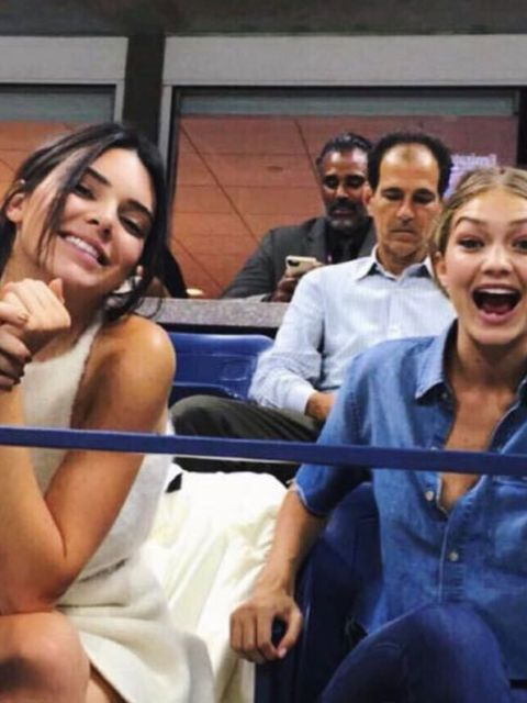 Kendall and Gigi at the US Open