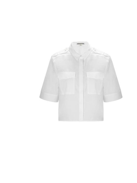 "<p>A white shirt is a perfect blank canvas for any outfit.</p><p>Get this one from <a href=""http://www.whistles.co.uk/fcp/categorylist/dept/new_in-tops?resetFilters=true"">Whistles</a>, £115</p>"
