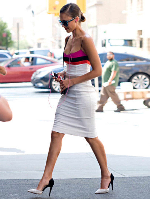 <p>Jessica Alba wearing Narciso Rodriguez</p>