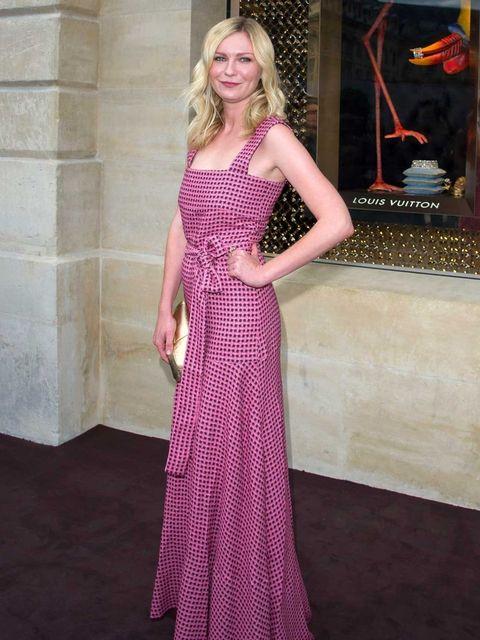 <p>Kirsten Dunst at Louis Vuitton's new boutique</p>