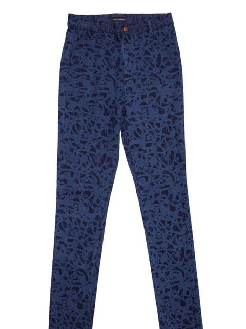 <p>Won Hundred 'Aime' printed jean, £110, at Urban Outfitters, for stockists call 0203 219 1944</p>