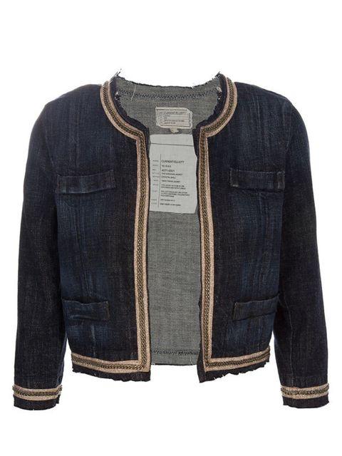 """<p>Current Elliott cardigan jacket, £574, at <a href=""""http://www.farfetch.com/shopping/women/current-elliott/item10083682.aspx"""">farfetch.com</a></p>"""