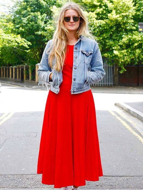 <p>Photo by Silvia Olsen @ Anthea Simms.Sophie Butler, 25, Jewellery Designer. Vintage dress &amp&#x3B; sunglasses, vintage Levi jacket, Primark espadrilles.</p>