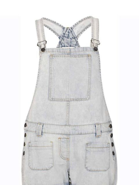 "<p><a href=""http://www.riverisland.com/Online/women/playsuits--jumpsuits/light-denim-chelsea-girl-dungarees-604276"">River Island</a> light denim dungarees, £35</p>"
