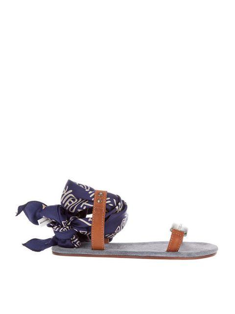"<p>Avec Moderation scarf detail sandal, £194, at <a href=""http://www.farfetch.com/shopping/women/avec-moderation/item10083962.aspx"">farfetch.com</a></p>"