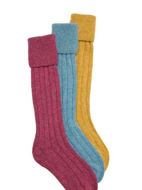 "<p>Pantherella cashmere socks, £24.50, at <a href=""http://www.woodsofshropshire.co.uk/shop/mens-socks/socks/cashmere-socks"">woodsofshropshire.co.uk</a></p>"