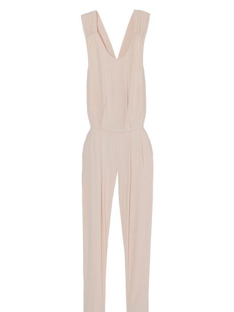 "<p><a href=""http://www.mulberry.com/?gclid=cokhglwp76gcfueb4qod3h_-dg/"">Mulberry</a> jumpsuit with floppy bow-back detail, £812</p>"