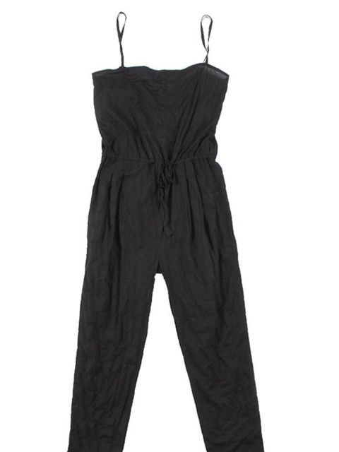 "<p>Rittenhouse black seersucker jumpsuit, £171, at <a href=""http://goodhoodstore.com/?page=51&id=2019"">Goodhood</a></p>"
