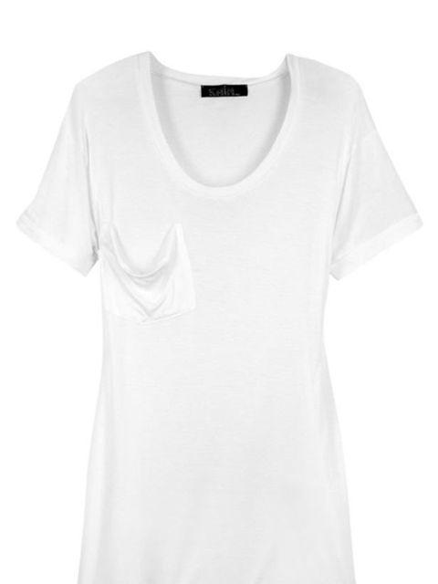 """<p>Kain modal &amp&#x3B; silk-blend t-shirt, £70, at <a href=""""http://www.net-a-porter.com/product/80398"""">Net-a-Porter</a></p>"""