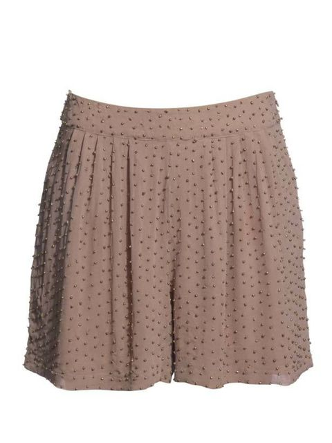 "<p>For elegant summer style, ditch the black shorts in favour of this Reiss pair. Great for weddings and parties, they'll last for seasons to come… <a href=""http://www.reissonline.com/shop/womens/shorts/lisa/mocha/"">Reiss</a> embellished shorts, £129</p>"