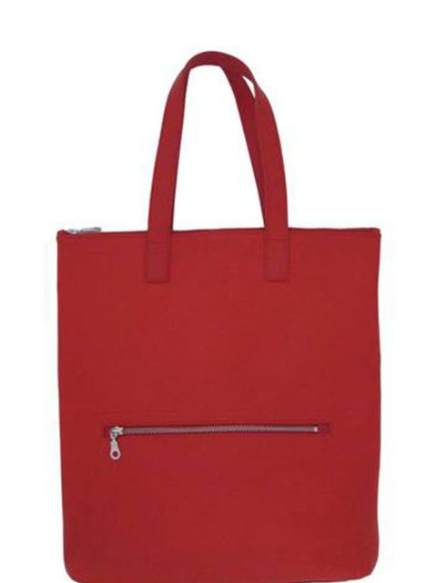 "<p>We love this totes simplicity and ease. Wear with a minimalist denim dress, Breton top, and pretty much everything else in your wardrobe... <a href=""http://www.katesheridan.com/"">Kate Sheridan</a> tote, £215</p>"