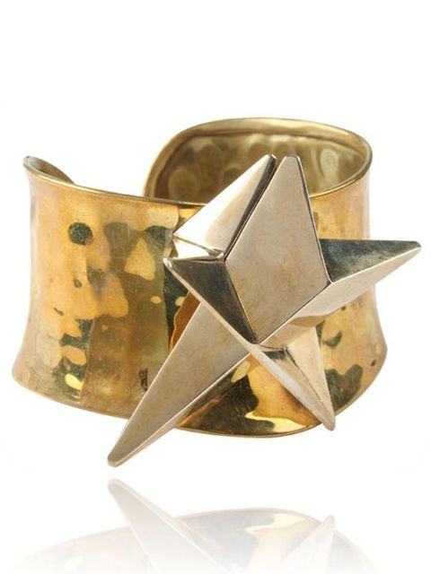 "<p>Yuki Mitsuyasu star cuff, £165, at <a href=""http://www.econe.co.uk/Bracelets/Star-Shine-Cuff"">econe.co.uk</a></p>"