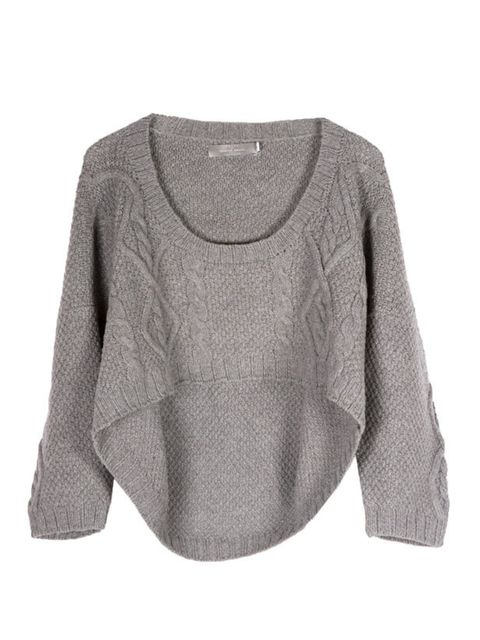 "<p>Preen cropped cable knit jumper, £470, at <a href=""http://www.start-london.com/designers/womens/preen/cropped-cable-knit-sweater-4738.html"">Start London</a></p>"