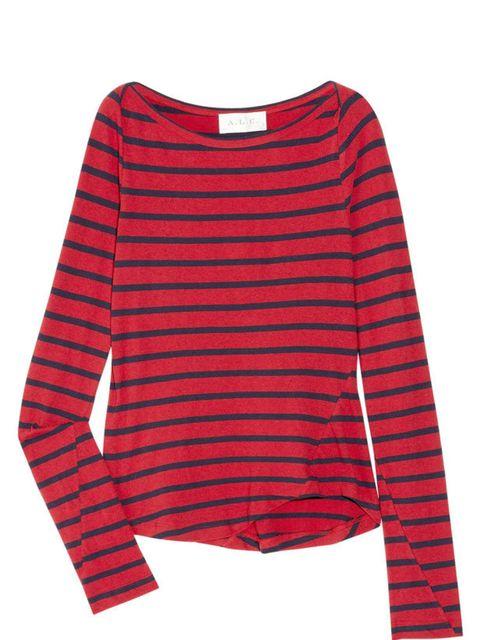 <p>A.L.C. striped top, £190, at Net-a-Porter</p>