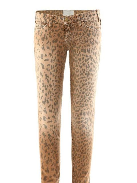 "<p>Jungle fever has arrived in the form of achingly cool denim label Current Elliott. Wear now with wedge sandals and swap to chunky ankle boots come winter... Current Elliott leopard print jeans, £176, at <a href=""http://www.matchesfashion.com/fcp/produc"