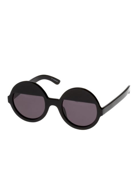 "<p>Stamp some directional glamour on your summer wardrobe just like certified fan Abbey Lee Kershaw… Ksubi round sunglasses, £195, at <a href=""http://www.eyerespect.com/"">Eyerespect.com</a></p>"