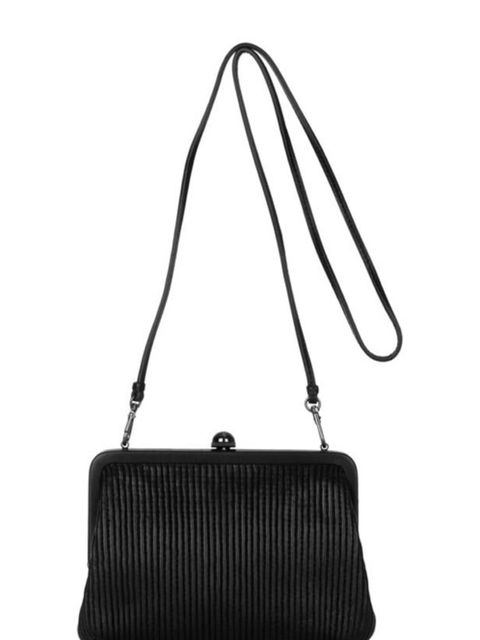 "<p>Reed Krakoff ribbed leather bag, £340, at <a href=""http://www.net-a-porter.com/product/162173"">Net-a-Porter</a></p>"
