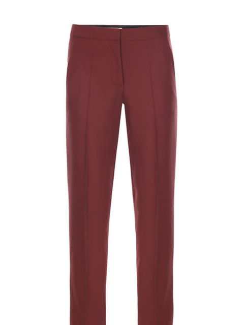 "<p>Stella McCartney tailored tux trousers, £330, at <a href=""http://www.matchesfashion.com/fcp/product/Matches-Fashion/womens_stella_mccartney/stella-mccartney-sm-b-272585-sk700-trousers-RED/51485"">Matches Fashion</a></p>"