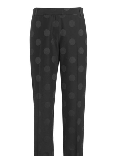 <p>Boutique by Jaeger polka dot trousers, £130, for stockists call 0845 051 0063</p>