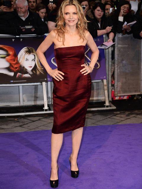 <p>Michelle Pfeiffer in Lanvin</p>