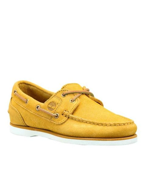 """<p><a href=""""http://www.timberlandonline.co.uk/on/demandware.store/Sites-TBLGB-Site/default/Search-Show?cgid=women_footwear_shoes_boat&amp&#x3B;pid=PS_wmssuedebt&amp&#x3B;start=6&amp&#x3B;source=search&amp&#x3B;color=713"""">Timberland</a> yellow boat shoes, £85</p>"""