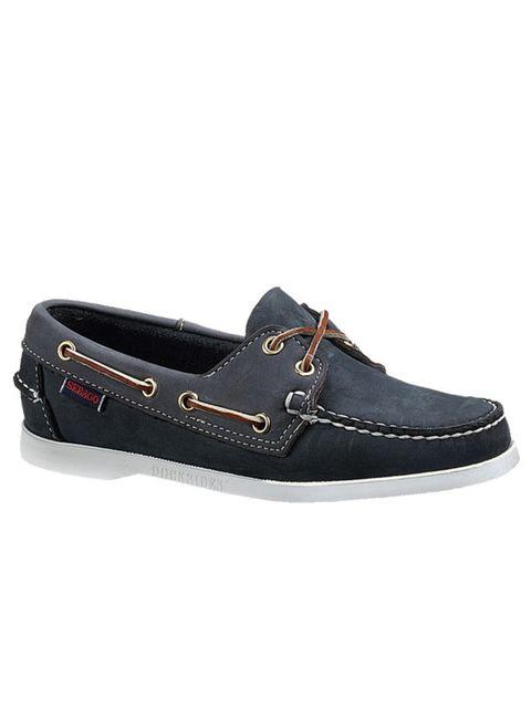 """<p><a href=""""http://www.sebago.com/UK/en-GB/Gallery.mvc.aspx/W-BTS/Women/Footwear/Boat-Shoes"""">Seabago</a> navy boat shoes, £95</p>"""
