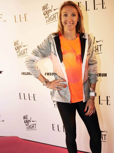 <p>Paula Radcliffe at the #WeOwnTheNight event.</p>