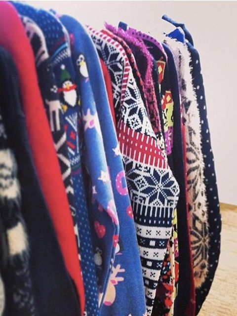 <p>Monday. Christmas means one thing in the ELLE office...</p>