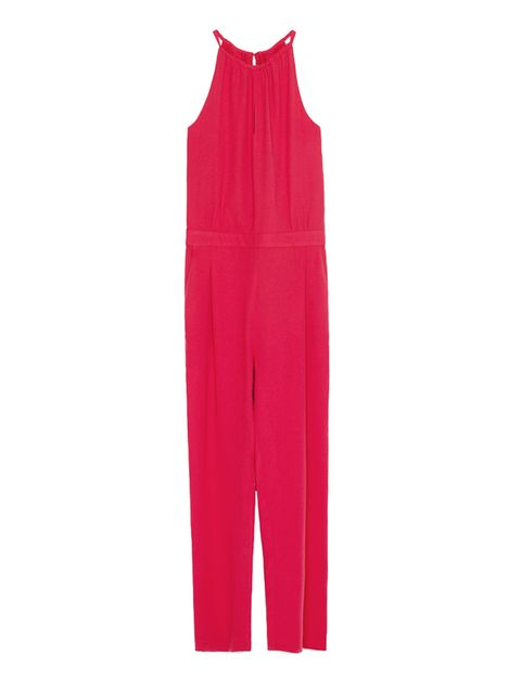 "<p><a href=""http://www.zara.com/uk/en/collection-aw15/woman/jumpsuits/long-jumpsuit-with-spaghetti-straps-c663016p2775988.html"" target=""_blank"">Zara</a> jumpsuit, £49.99</p>"