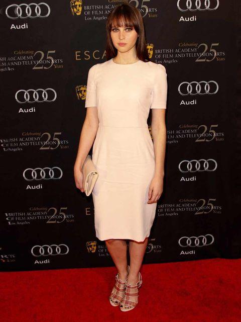 <p>Felicity Jones in Dolce & Gabbana</p>