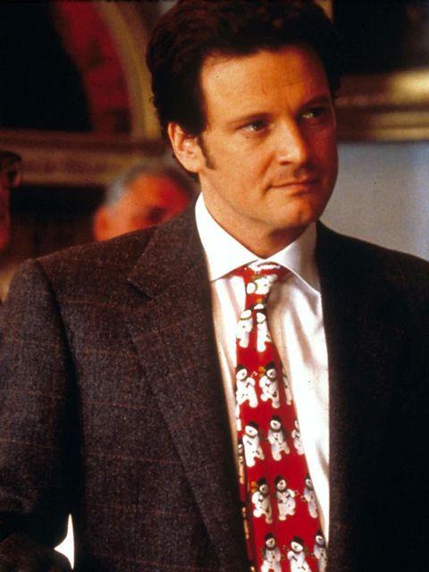 <p>Colin Firth as our modern hero Mark Darcy in Bridget Jones's Diary</p>