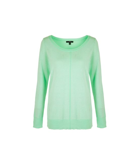 "<p><a href=""http://www.gap.eu/browse/division.do?cid=56725"">GAP</a> neon green sweater, £29.95</p>"