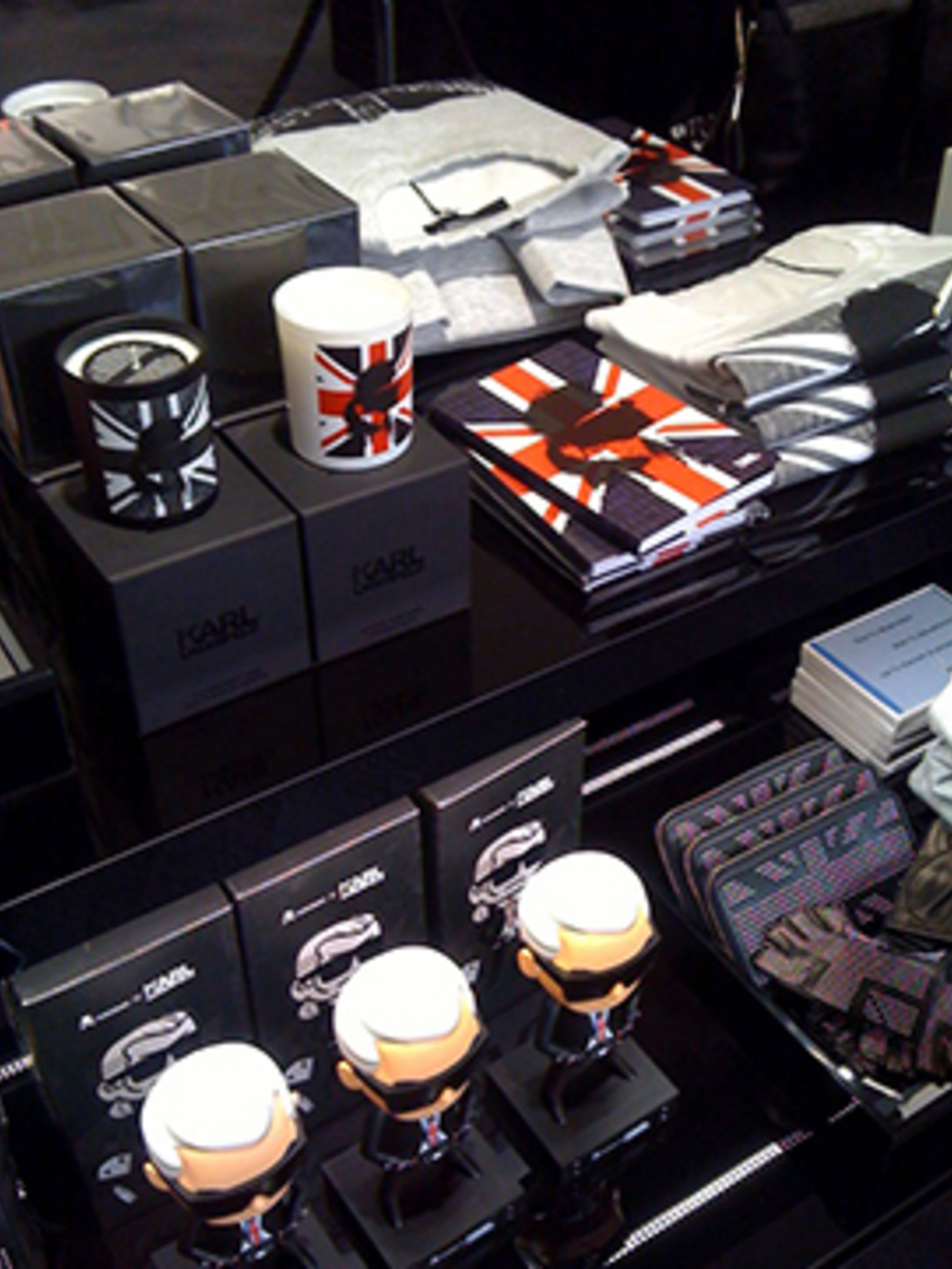 <p>Inside the Karl Lagerfeld store</p>