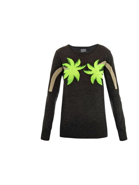 "<p>Markus Lupfer neon palm tree jumper, £269, at Matches</p><p><a href=""http://shopping.elleuk.com/browse?fts=markus+lupfer+palm+tree"">BUY NOW</a></p>"